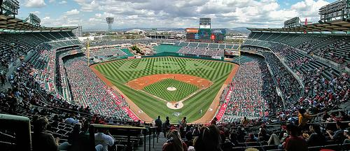 Angel's Stadium Panorama - 2003
